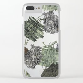 Carbonation Collection: winter Clear iPhone Case
