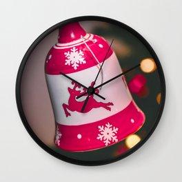 Christmas bell Wall Clock