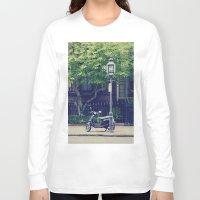 vespa Long Sleeve T-shirts featuring Vespa by thirteesiks
