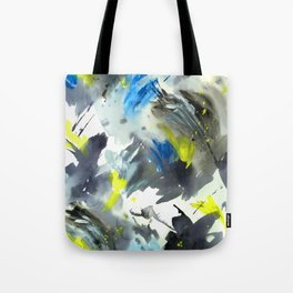 Pushing Paint Again Tote Bag