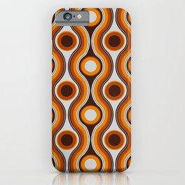 Older Patterns ~ Waves 70s iPhone Case