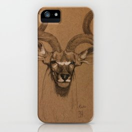 African Kudu iPhone Case