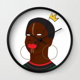 Queen Simone Wall Clock