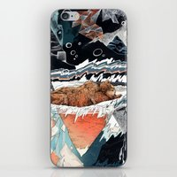 30 seconds to mars iPhone & iPod Skins featuring Seconds Behind by Sandra Dieckmann
