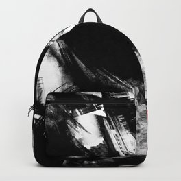 Brooklyn has fallen   Abstract Painting Backpack