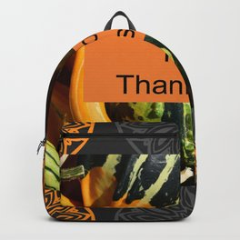 Happy Thanksgiving Backpack