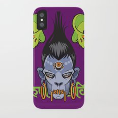 Snakey is Awakey iPhone X Slim Case