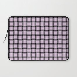 Small Pastel Violet Weave Laptop Sleeve