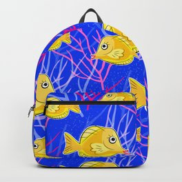 Tropical Fish Tank Backpack