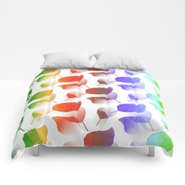 Leaves Descent Comforters