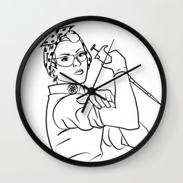 Rosie the Researcher Wall Clock