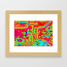 Hot, cold, and all between ... Framed Art Print