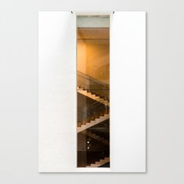 Staircase at the Museum Canvas Print