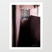 Darkened Door Art Print