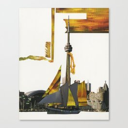 Toronto Waters Canvas Print