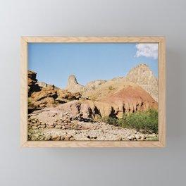 Controbando - West Texas Framed Mini Art Print