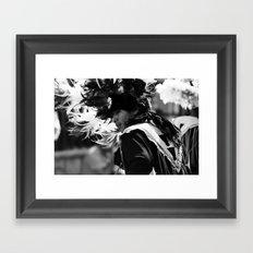 Danza Framed Art Print