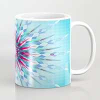 diamond Mugs featuring Diamond by Helen Kaur