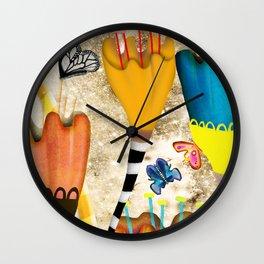 RUPYDETEQUILA ART 2019 - PERÚ Wall Clock