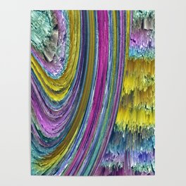 rainbow wall Poster