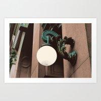 green lantern Art Prints featuring Green Lantern by Brooke Copani